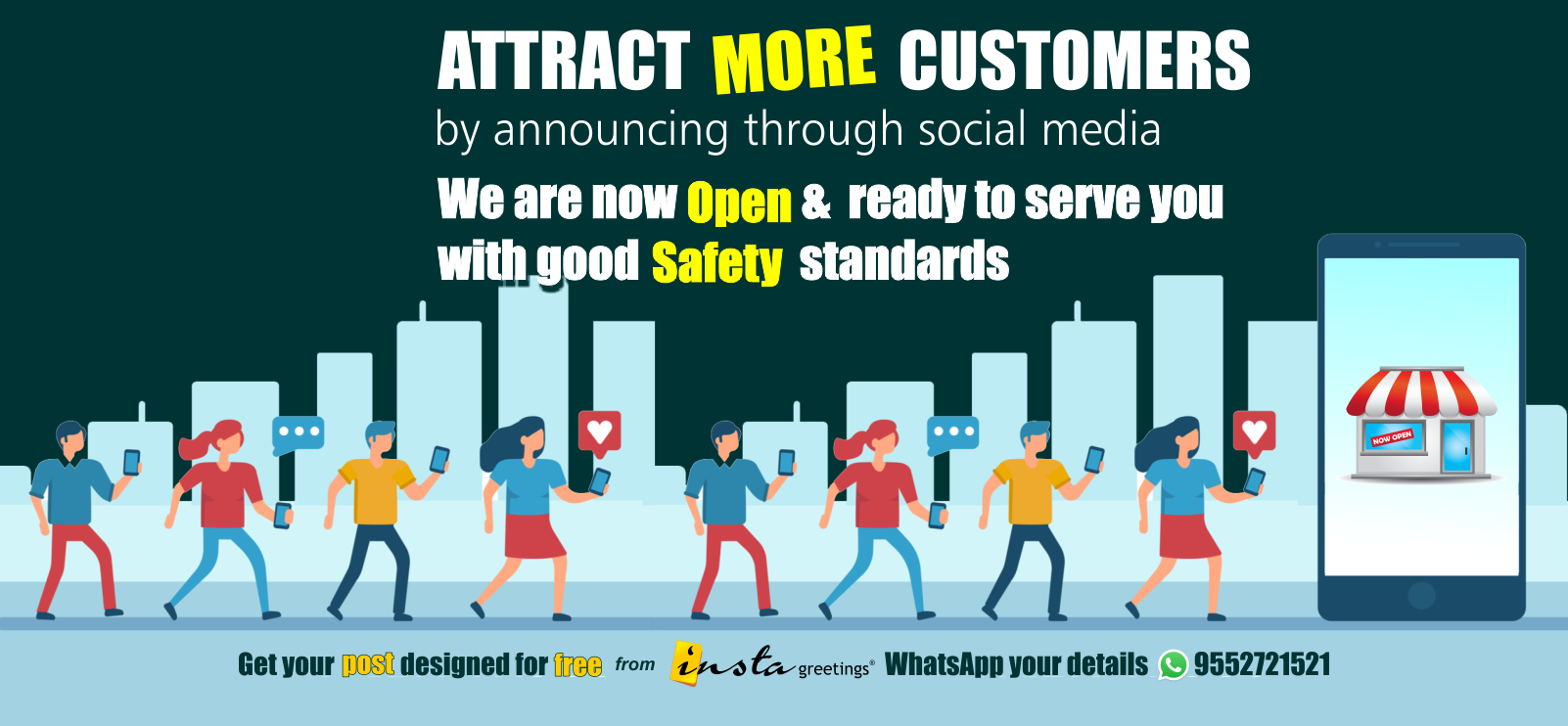 Attract More Customer